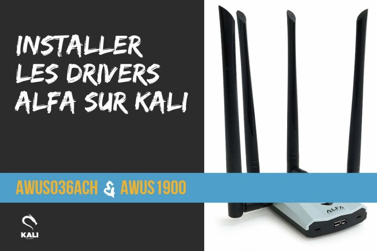 Installer les drivers Alfa AWUS036ACH & AWUS1900 – Kali-linux fr