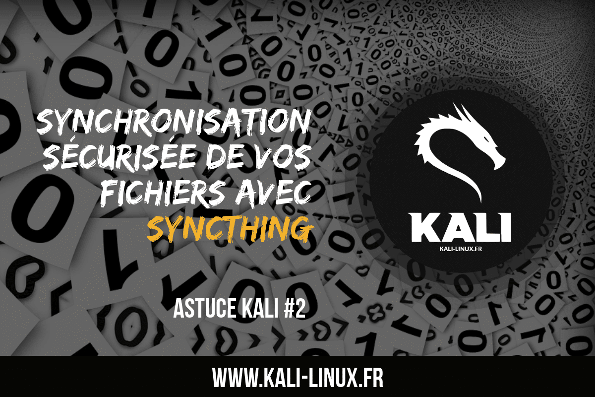 Synchronisation de fichier synchting linux kali