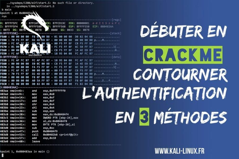 tutoriel crackme kali linux