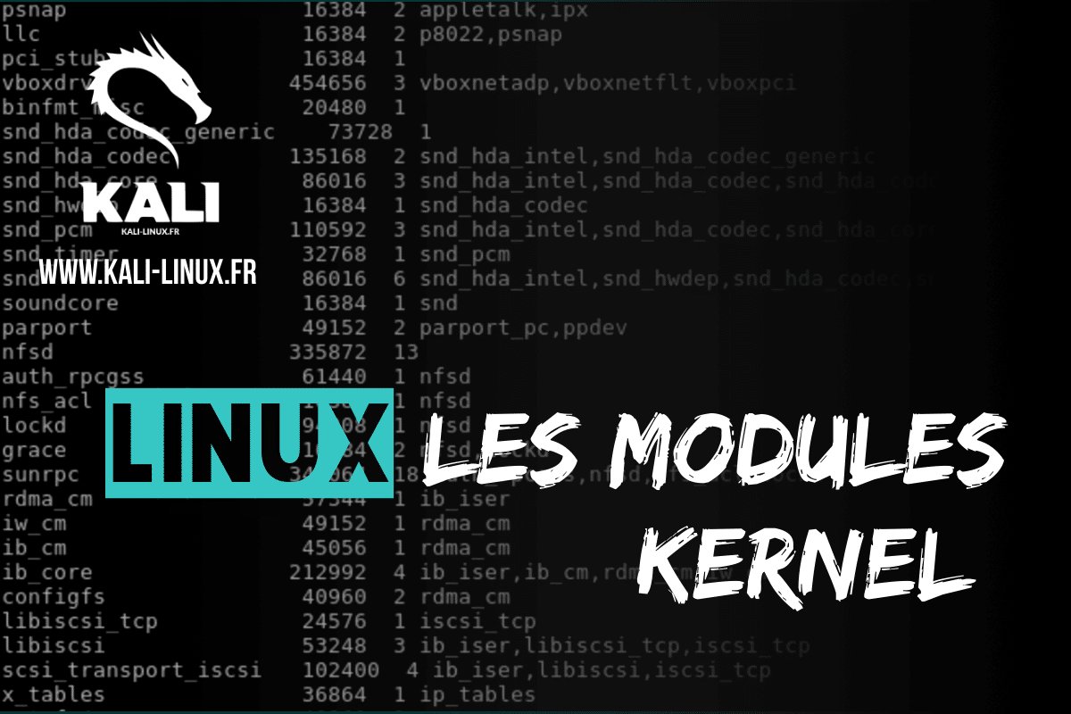 linux les modules kernel