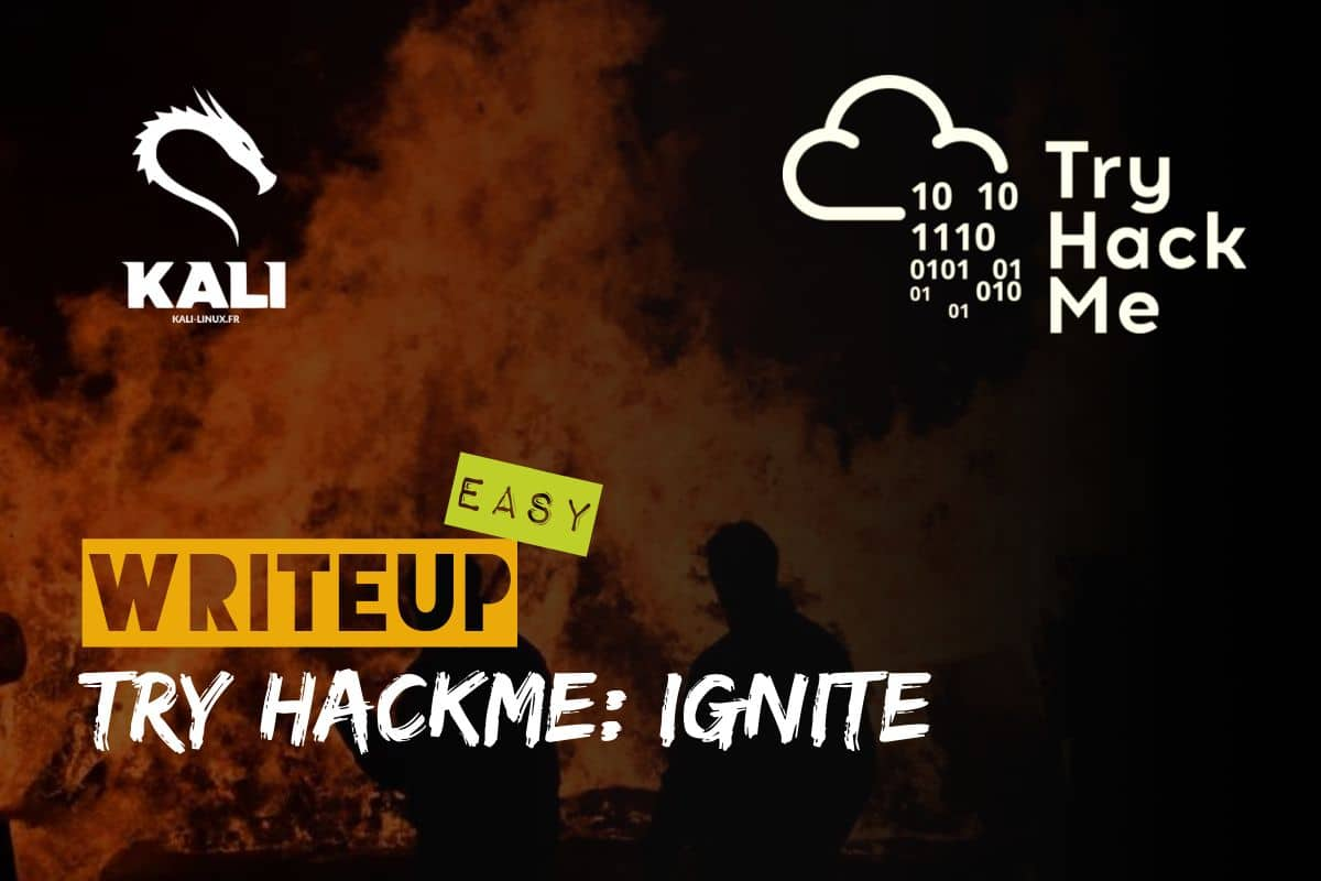 solution de la machine tryhackme ignite en français
